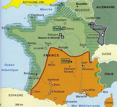分断されたフランス