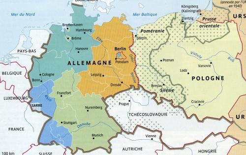 ドイツの分割