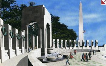アメリカ第二次大戦記念碑