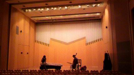 25絃コンサートリハ