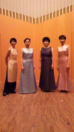 25絃コンサート ドレス