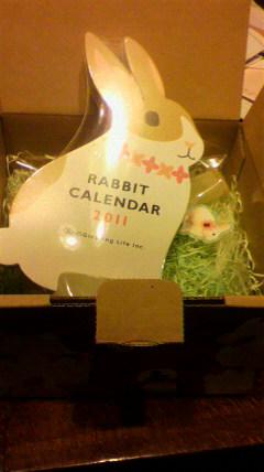 うさぎカレンダー