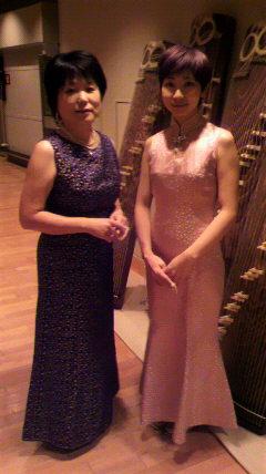 25絃コンサート ドレスその2