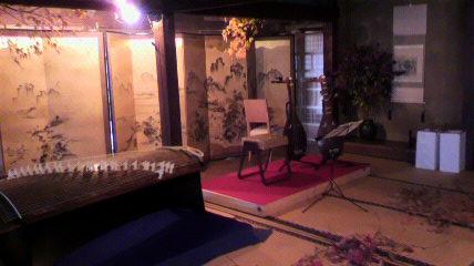竹中邸箏と琵琶