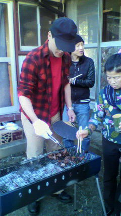 竹中邸鹿肉