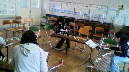 伝統音楽授業1