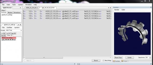 ジンコウガクエン2 SB3UtilityGUI アクセサリー カテゴリー変更 作業画像