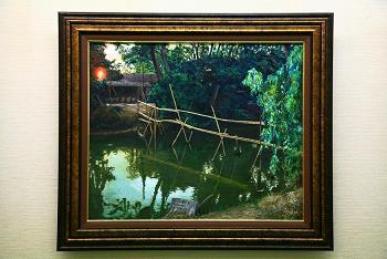 運河を渡る橋