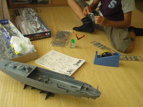 10,8,6真央戦艦大和着作り (5)