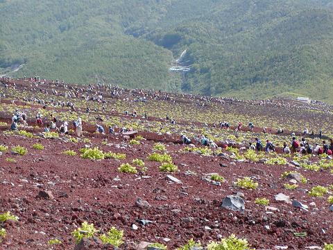 富士山平成15年8月2・3日 067