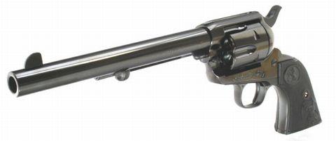タナカ モデルガン コルトSAA 7-1/2インチ キャバルリー スチールフィニッシュ
