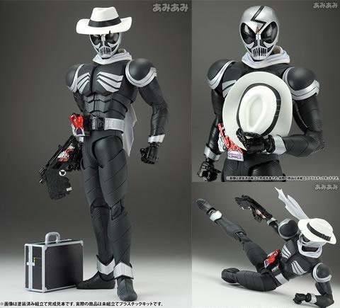MGフィギュアライズ 1/8 仮面ライダースカル アクションフィギュアプラモデル バンダイ