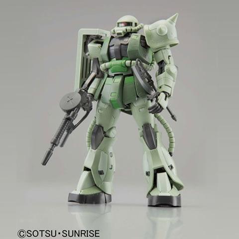 BANDAI RG 1/144プラモデル 機動戦士ガンダム MS-06F 量産型ザク