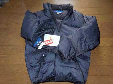 やっと届いたナンガのジャケット