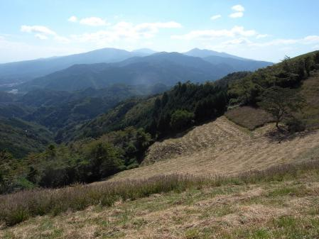 大野山から箱根方面