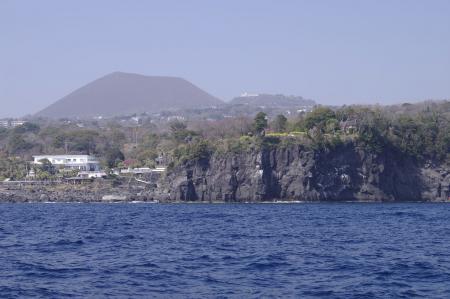 遊覧船より城ヶ崎海岸