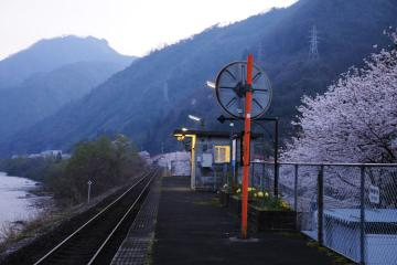 春爛漫の三江線(3)