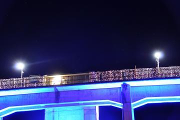 INAKAイルミin宇都井駅(6)