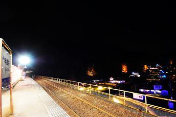 INAKAイルミin宇都井駅(13)