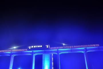 INAKAイルミin宇都井駅(15)