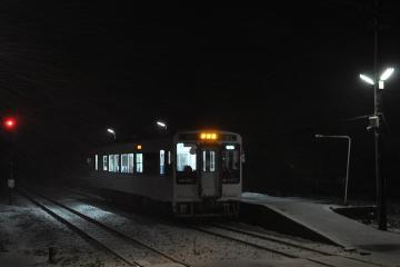 久原駅・雪夜(2)