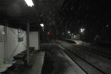 久原駅・雪夜(3)