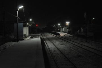 久原駅・雪夜(4)