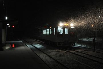 久原駅・雪夜(5)