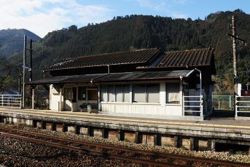 夜明駅解体(8)