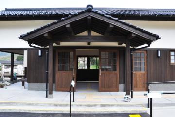 新駅舎_夜明(3)