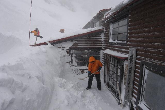 風雪の除雪