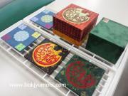 近鉄文化サロン 阿倍野教室 2011年秋 T子さんの¥100ショップ箱のリメイク