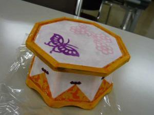 韓紙工芸一日講座@近鉄文化サロン上本町教室2013/1/15-3