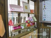 全州で韓紙工芸体験 5