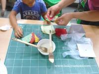 全州で韓紙工芸体験 7