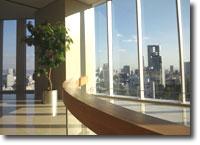 NHKカルチャー大阪教室のエレベーター乗継階