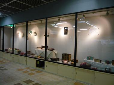 NHK文化センター神戸教室 韓紙工芸講座 ロビー展