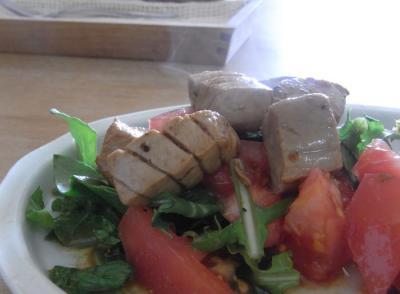 まぐろの炙りサラダ 2010.2.21