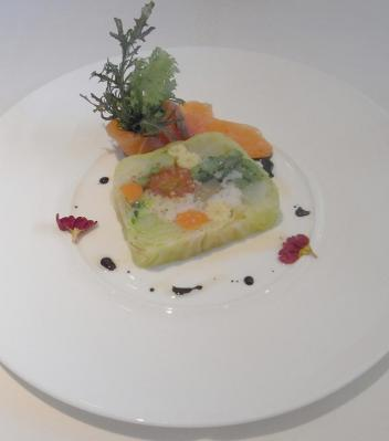 野菜のテリーヌ ビストロ・ド・エル 2010.2.24
