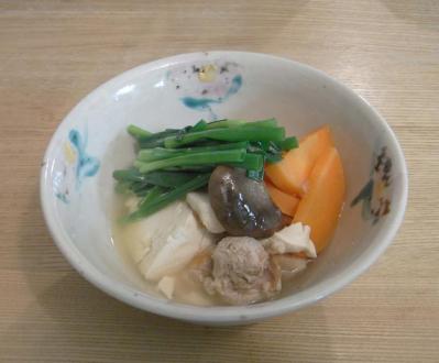 鶏肉のスープ 2010.2.28