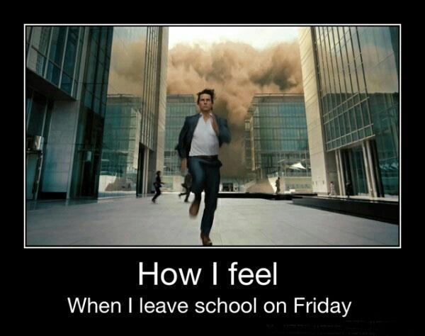 how i feel when firday after school