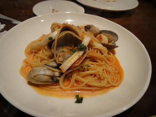 プチマルシェ 魚介のスパゲティ