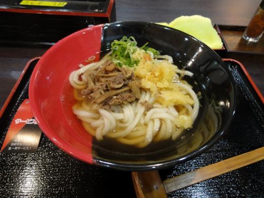 伊予製麺 にくごぼううどん1