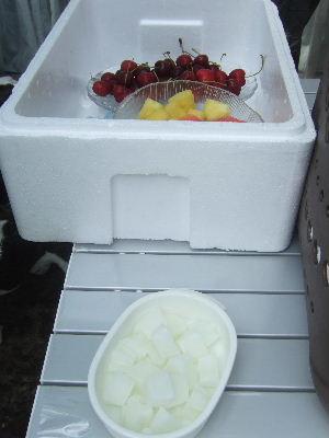 フルーツ&アイス