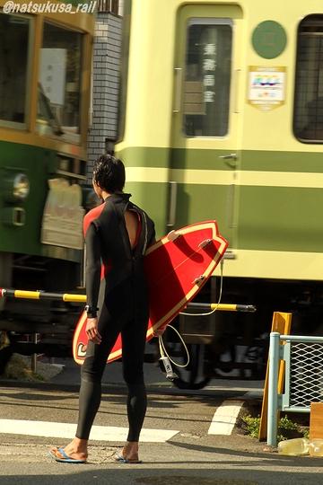 ある日の電車待ち