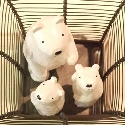 三匹の熊ちゃん達