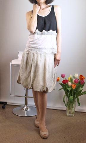 イリゼのバルーンスカート
