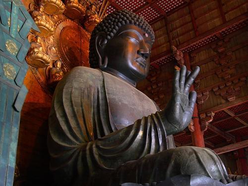東大寺-盧舎那仏坐像 (2)