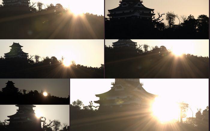 12-2-15-1朝日と城