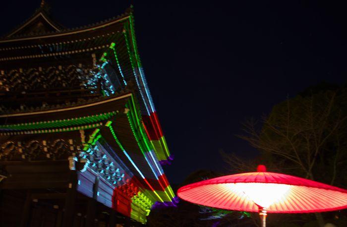 13-3-10-1幻想の灯ー国宝・知恩院三門